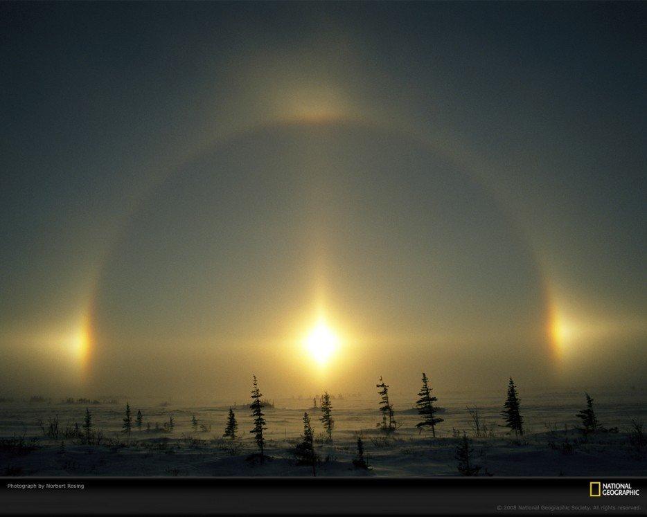 16 20 fenômenos espetaculares da natureza que você não vai acreditar que existem sundogs