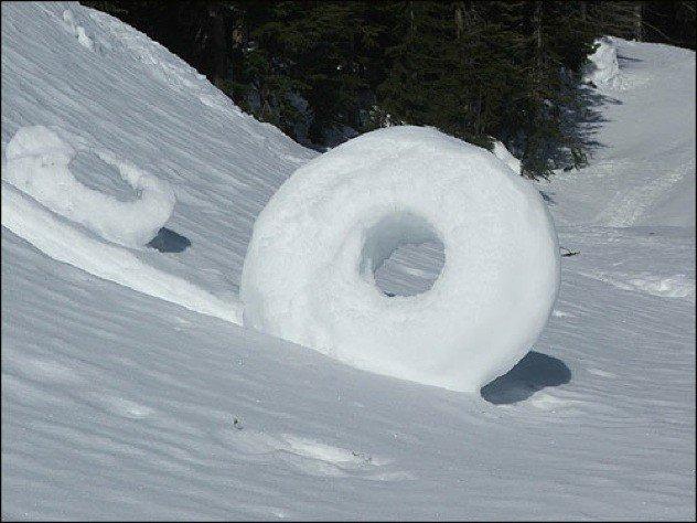 18 20 fenômenos espetaculares da natureza que você não vai acreditar que existem snow donuts