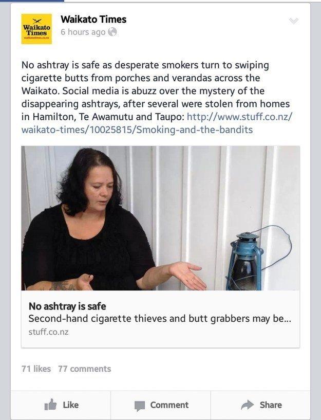fatos bizarros da Nova Zelândia jornais 4