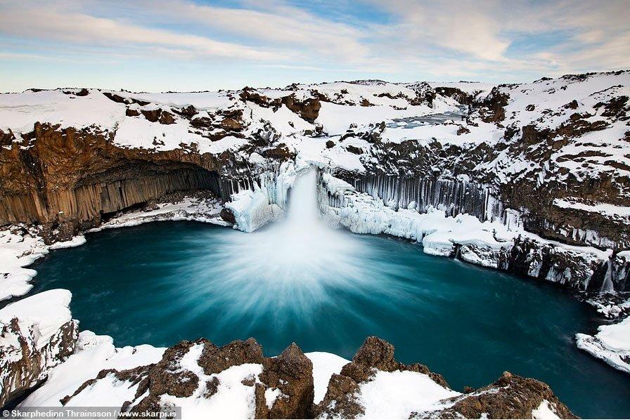 fotos para amar a Islândia Aldeyjarfoss in Skjálfandafljót