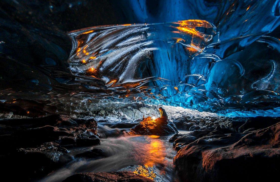fotos para amar a Islândia Vatnajokull ice cave