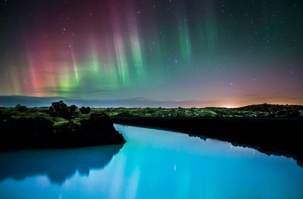 fotos para amar a Islândia aurora boreal 1