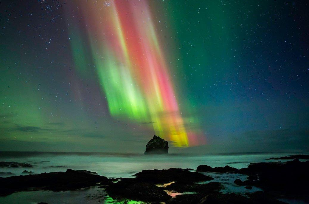 fotos para amar a Islândia aurora boreal 2