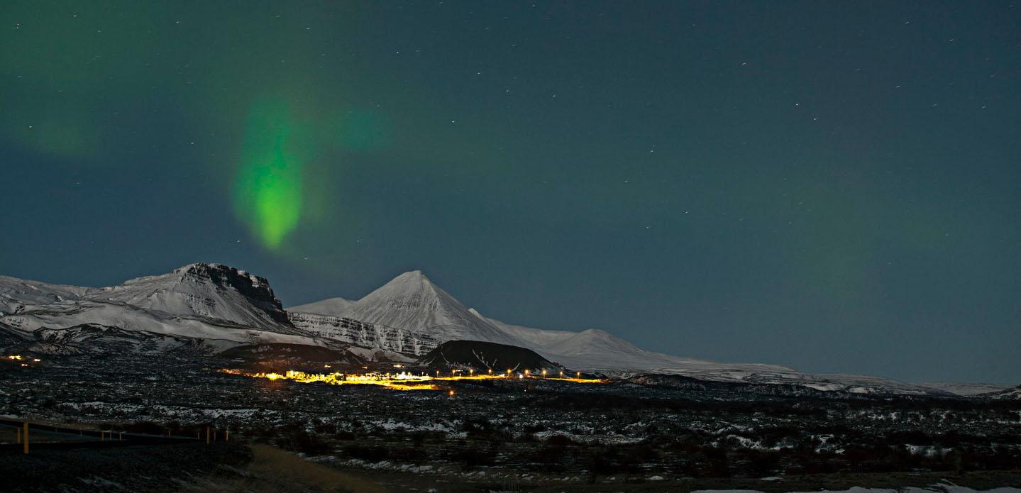 fotos para amar a Islândia aurora boreal montanhas