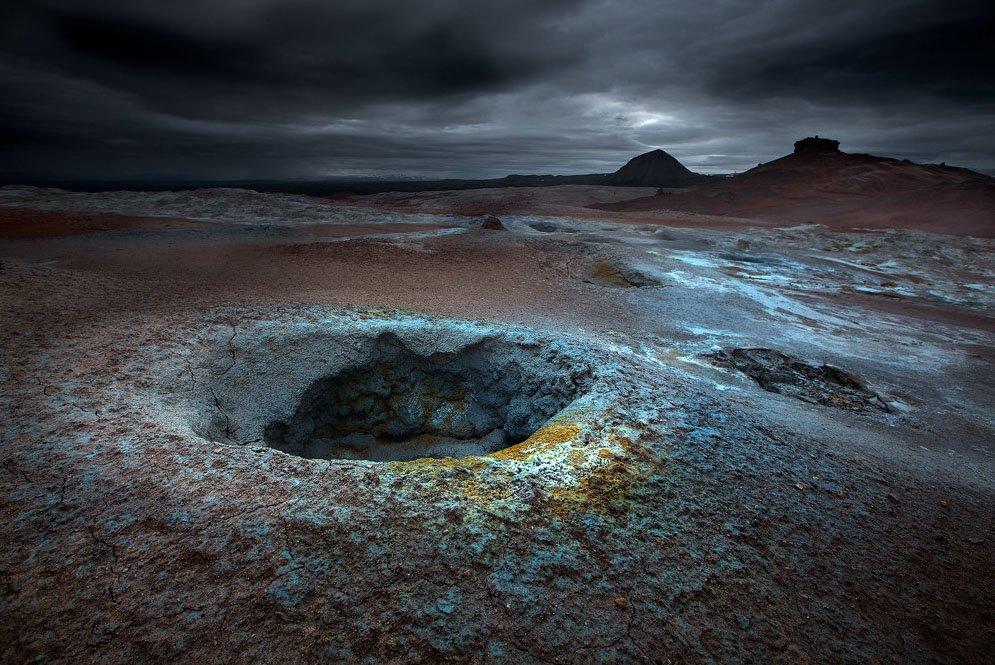 fotos para amar a Islândia cratera krafla