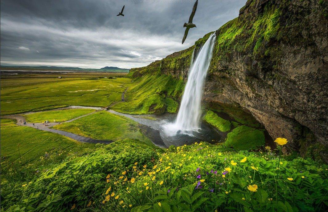 fotos para amar a Islândia icebergs flutuantes Summer Seljalandsfoss