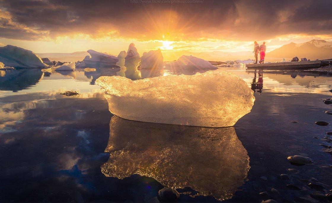 fotos para amar a Islândia icebergs flutuantes glaciar