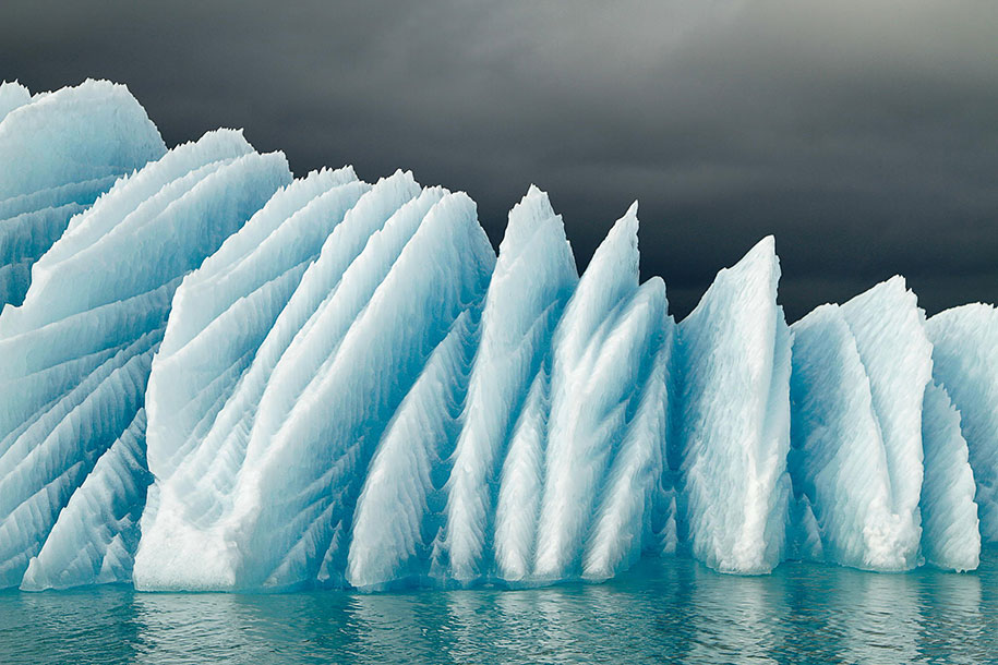 fotos para amar a Islândia icebergs flutuantes