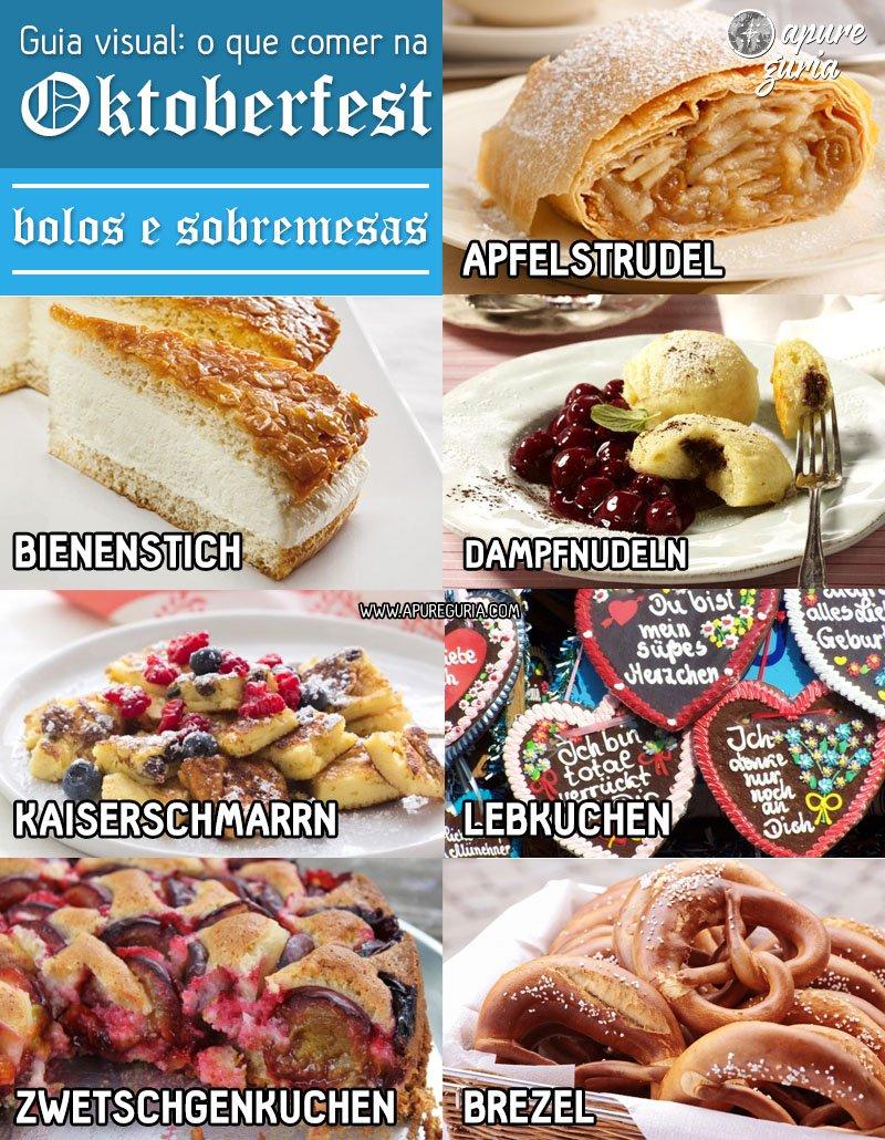guia visual o que comer na oktoberfest bolos e sobremesas