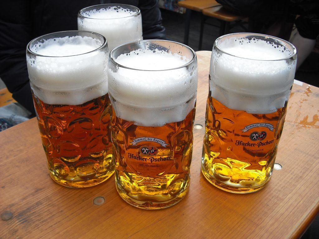 guia visual o que tomar na oktoberfest cerveja hacker pschorr