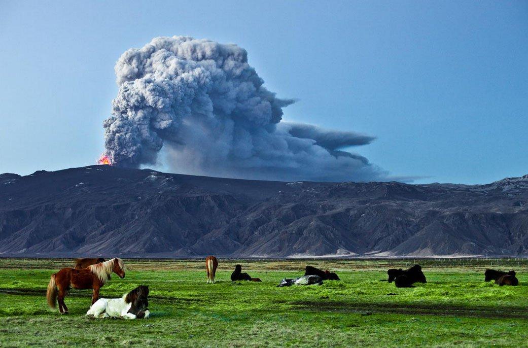 lava Eyjafjallajökull 2 fotos para amar a Islândia aurora boreal montanhas