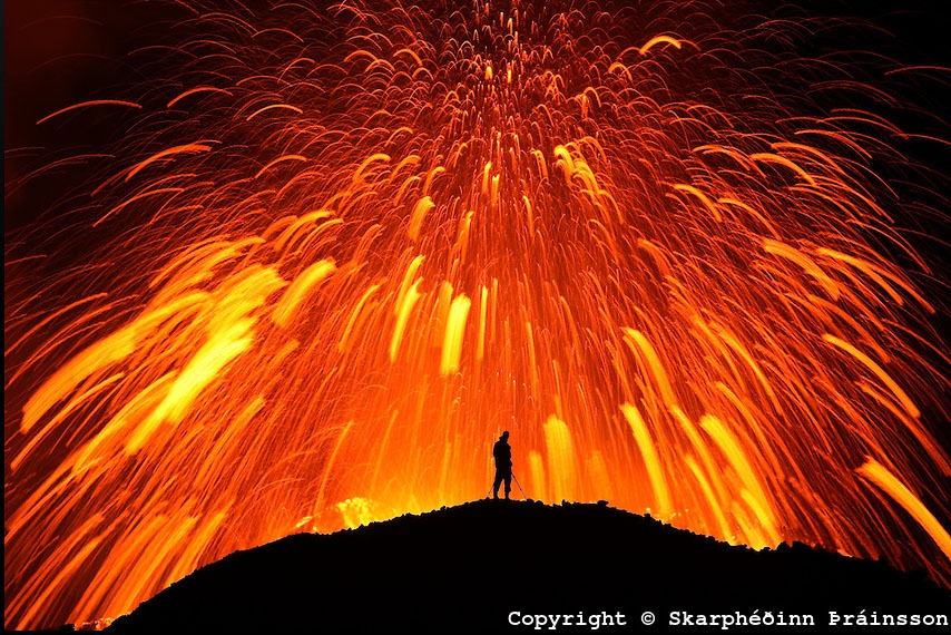 lava Eyjafjallajökull 3 fotos para amar a Islândia vulcão