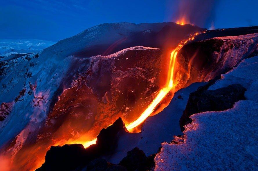 lava Eyjafjallajökull fotos para amar a Islândia aurora boreal montanhas