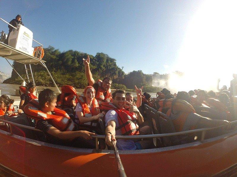 Mitando no Aventura Náutica nas Cataratas do Iguazú 1