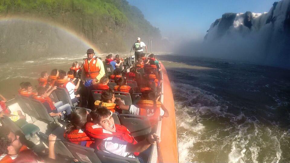 Mitando no Aventura Nautica nas Cataratas do Iguazú 5