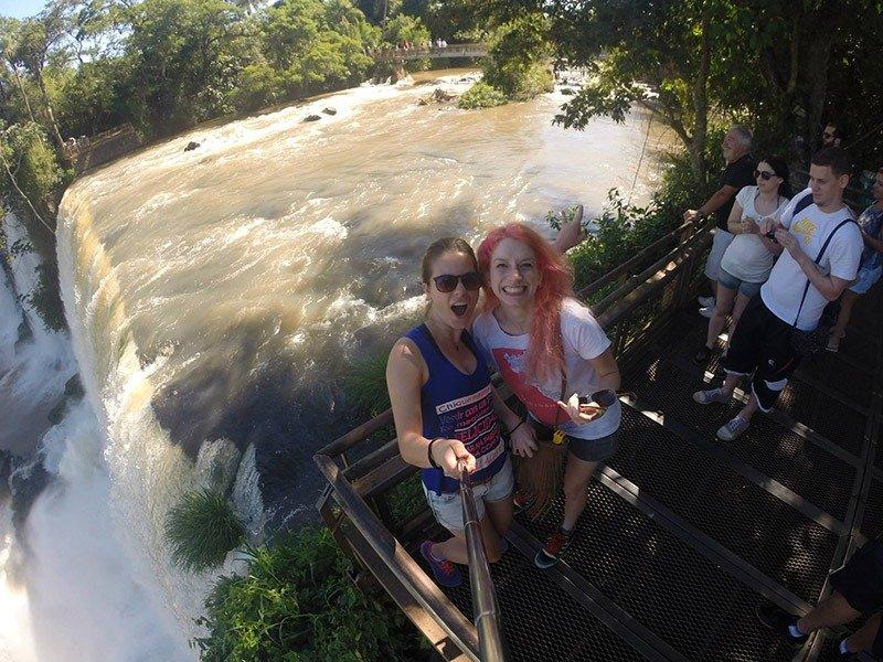 Puerto Iguazú e Cataratas do Iguaçu no lado argentino vista principal 3 parque nacional iguazú