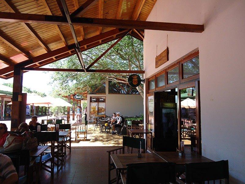 estrutura parque iguazu