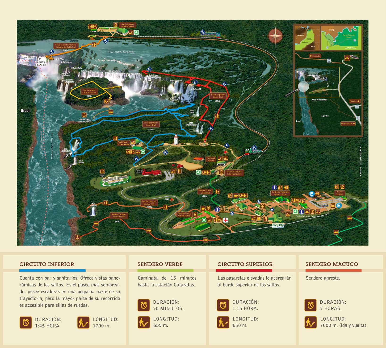 mapa cataratas do iguazu argentina