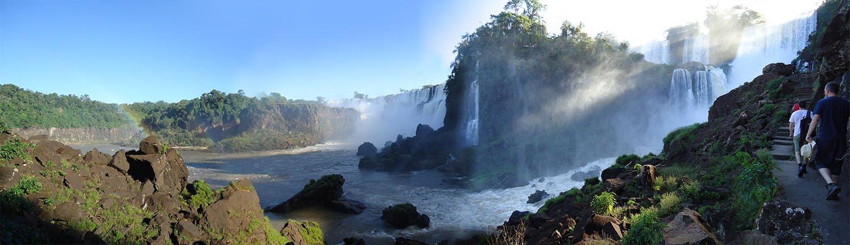 panorama Aventura Náutica iguazu nas Cataratas do Iguazú