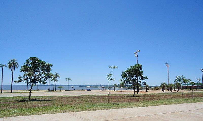 Rolê em Posadas, Argentina costanera 2