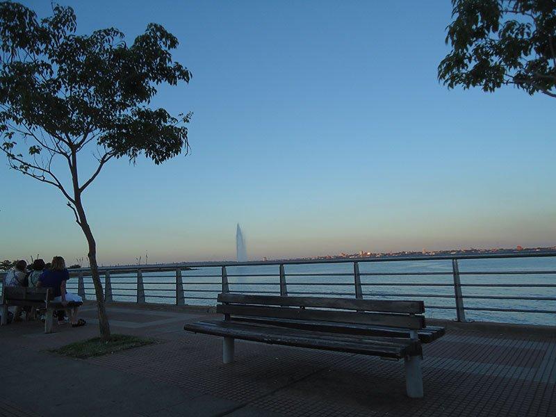 Rolê em Posadas, Argentina costanera