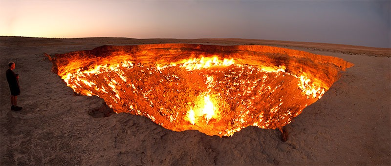 door to hell 20 lugares surreais que você não vai acreditar que existem