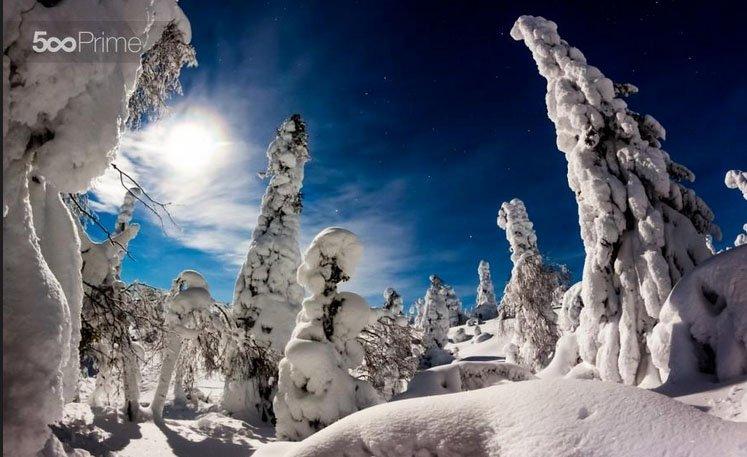 lapland Mikko Karjalainen 20 lugares surreais que você não vai acreditar que existem