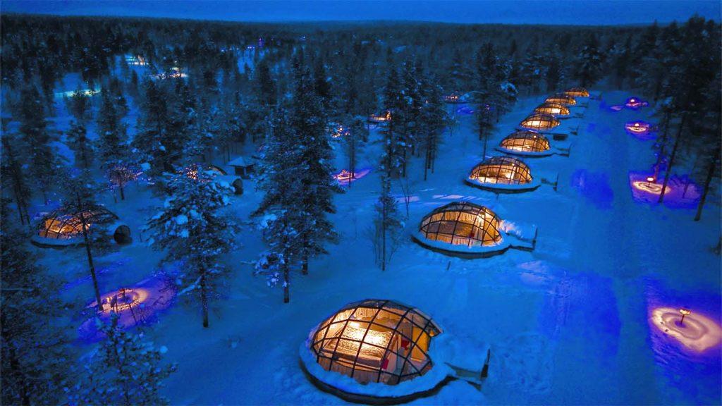 lapland iglus 20 lugares surreais que você não vai acreditar que existem