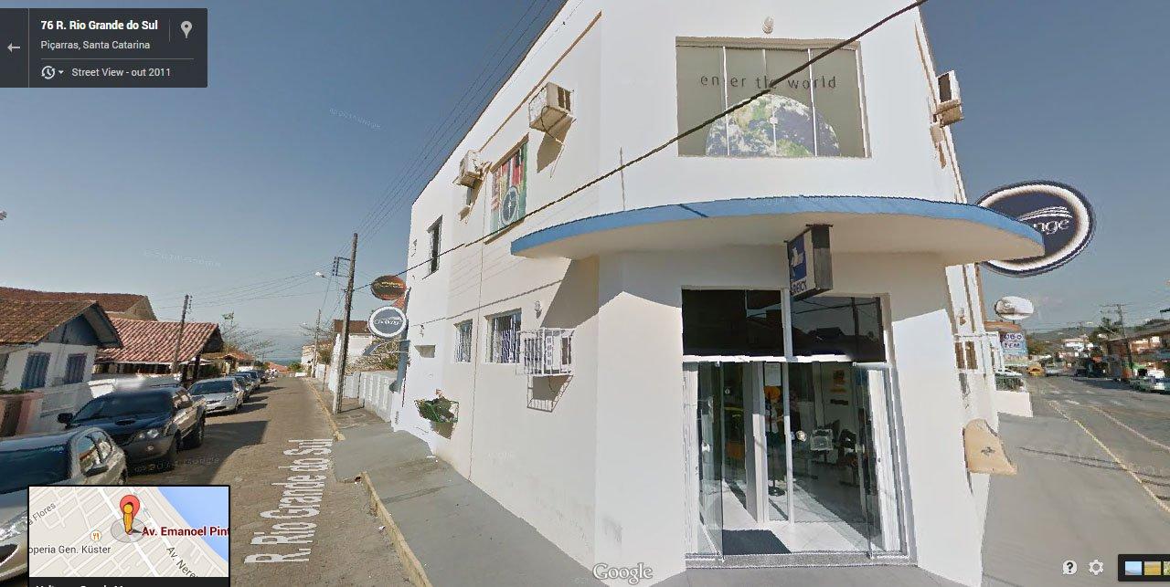 localização O bar de rock challenge rock cafe escondido em Piçarras, Santa Catarina