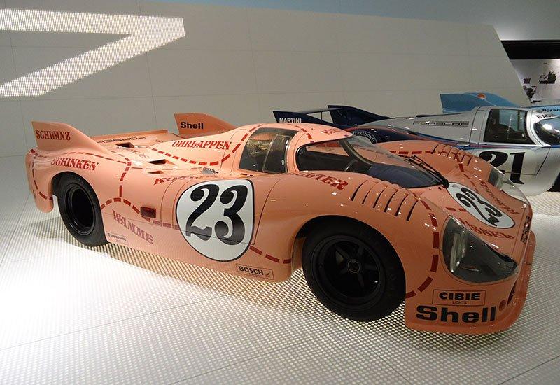 O museu da Porsche em Stuttgart Porsche 917 20