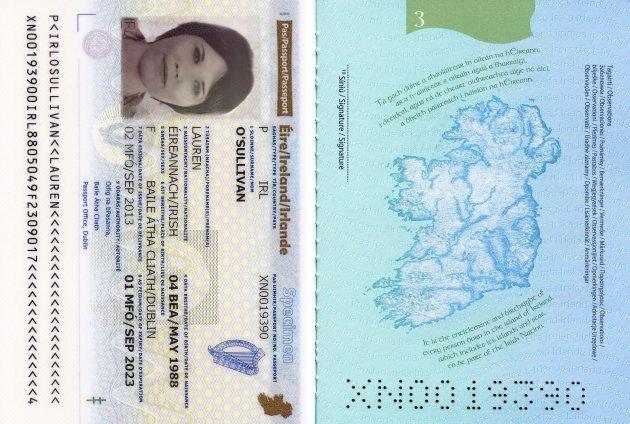 Os passaportes mais legais do mundo Irlanda (2)