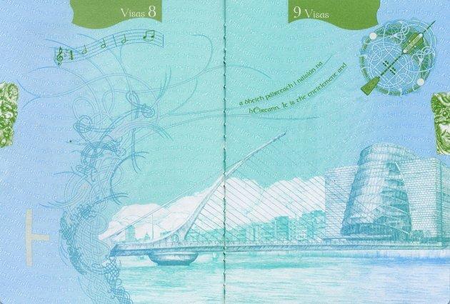 Os passaportes mais legais do mundo Irlanda (4)