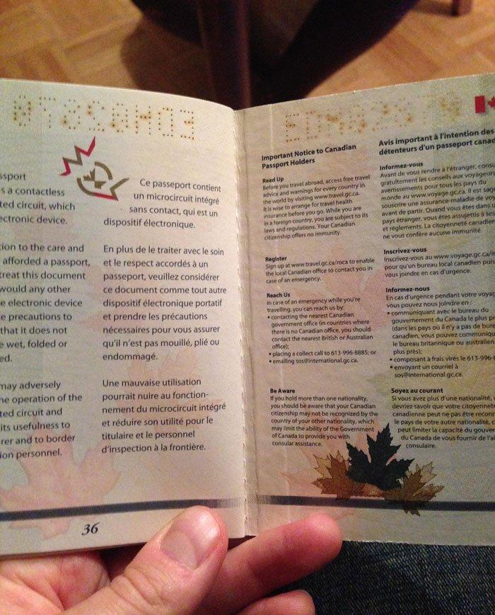 Os passaportes mais legais do mundo canada (17)
