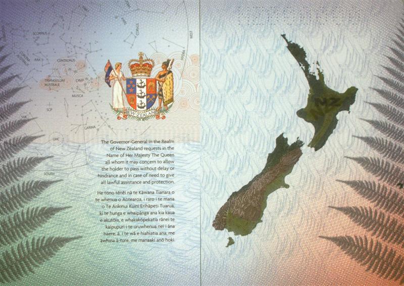 Os passaportes mais legais do mundo nova zelândia