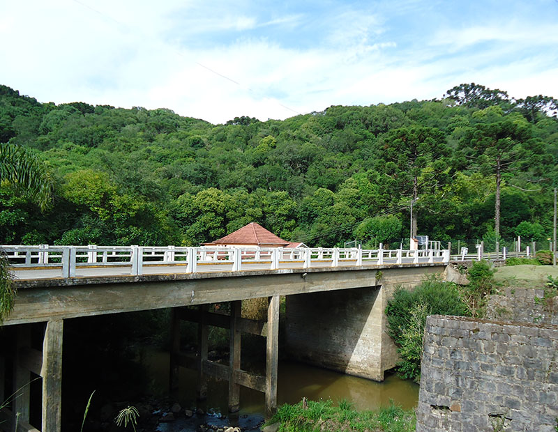 Rota Caminhos de Pedra em Bento Gonçalves ponte