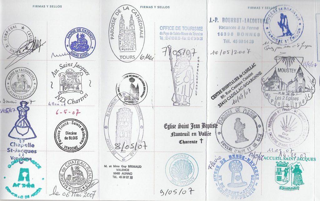 10 carimbos legais para o seu passaporte stamp cool caminho de compostela france frança