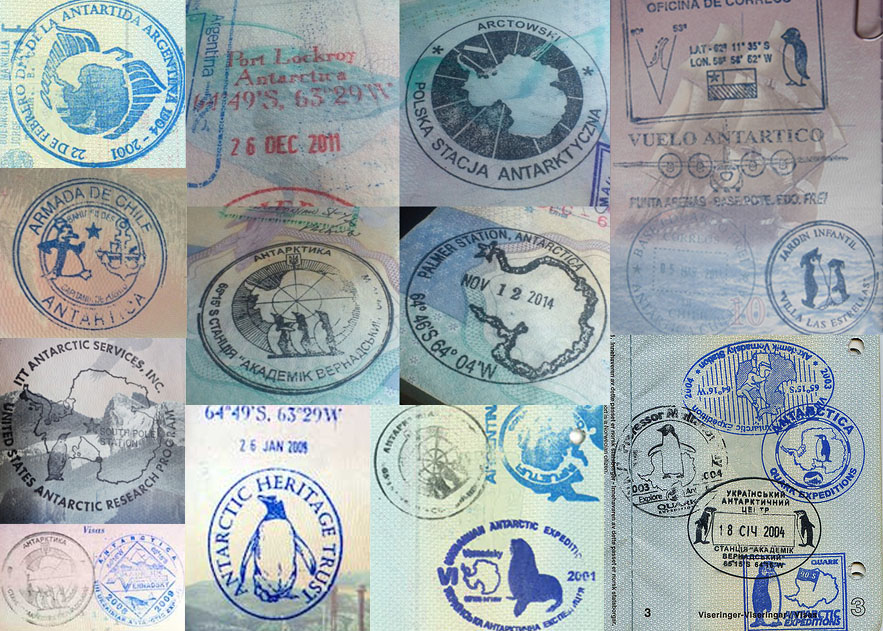 15 carimbos legais para o seu passaporte stamp cool antartica