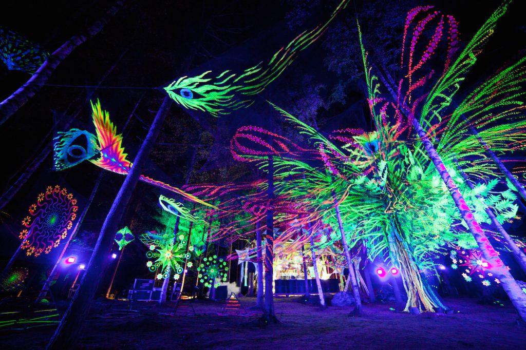 Festivais na Finlândia metal, verão e floresta Metsäfestival