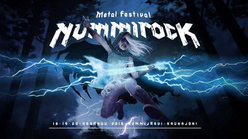 Festivais na Finlândia metal, verão e floresta nummirock 2