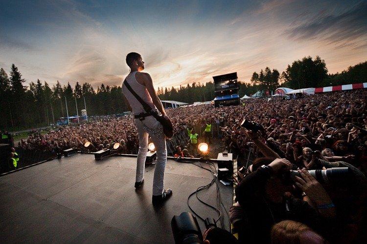 Festivais na Finlândia metal, verão e floresta provinssirock