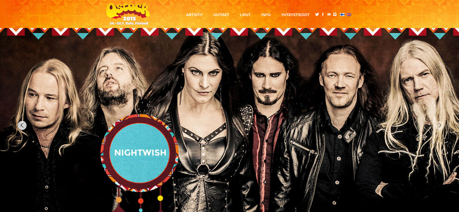 Festivais na Finlândia metal, verão e floresta qstock nightwish