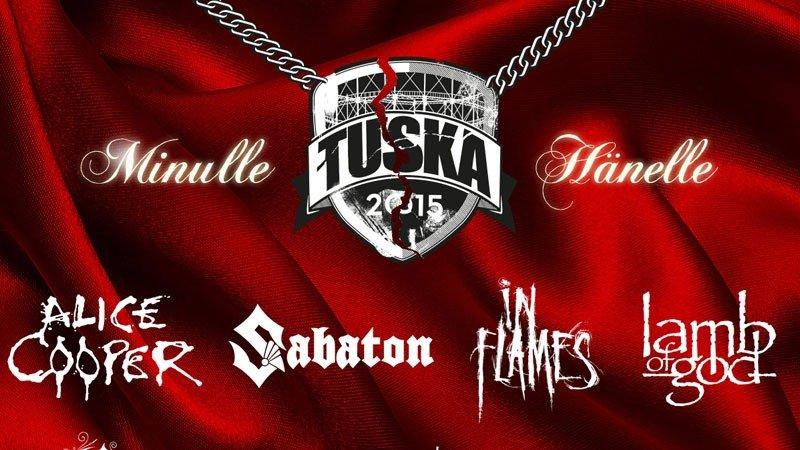 Festivais na Finlândia metal, verão e floresta tuska festival 2