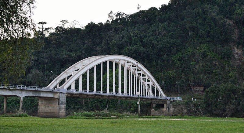 O Vale do Rio das Antas em Bento Gonçalves ponte uniao da vitoria