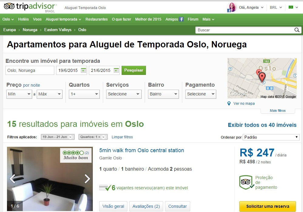 Viajar barato 10 sites de hospedagem alternativa TRIP ADvisor aluguel temporada