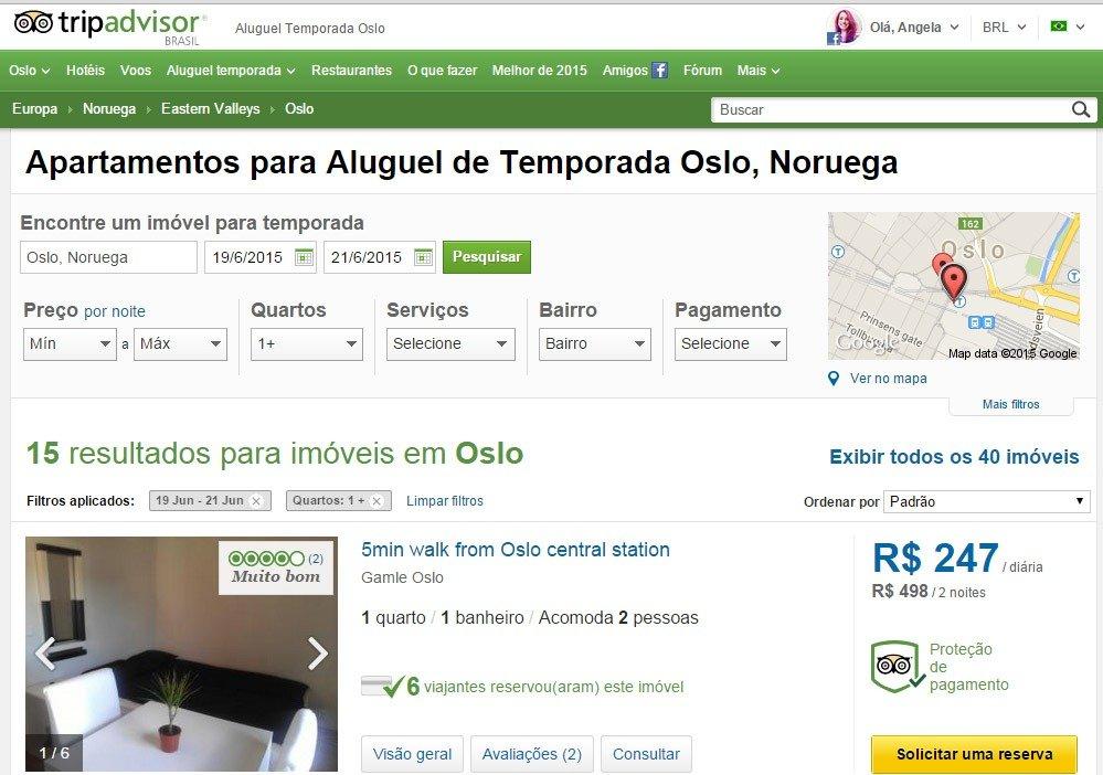 Viajar barato 10 sites de hospedagem alternativa TRIP ADvisor aluguel temporada