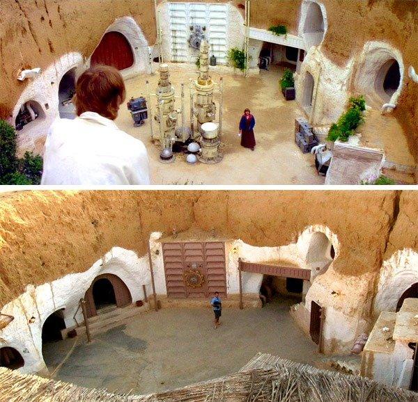 Mochilão-Galático- localizações-dos-sets-de-Star-Wars hotel sidi driss