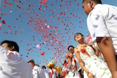 Dia dos namorados ao redor do mundo china