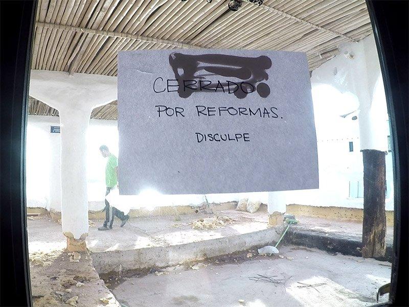 Por do sol na Casapueblo punta del este uruguai reforma