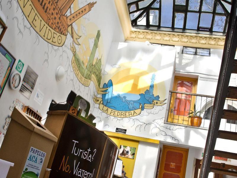 Hostel em Montevideo El Viajero decoração