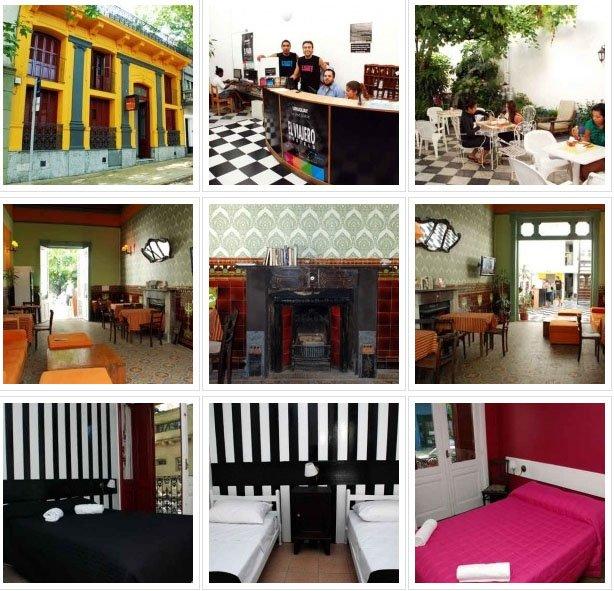 Hostel em Montevideo El Viajero quarto cozinha